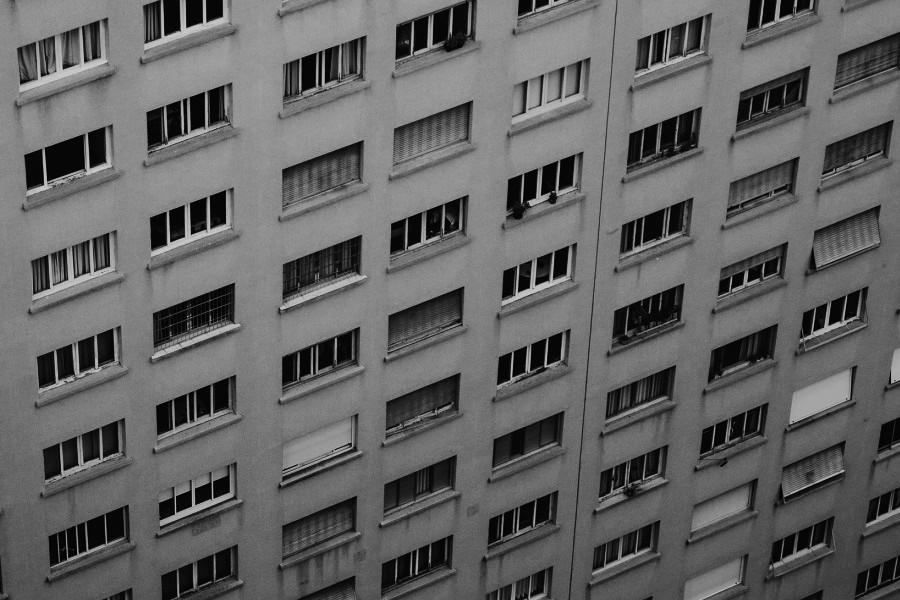 Budynek z wielkiej płyty