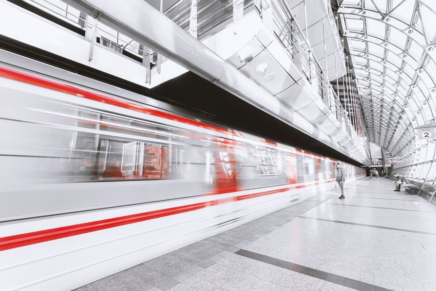 Metro na stacji