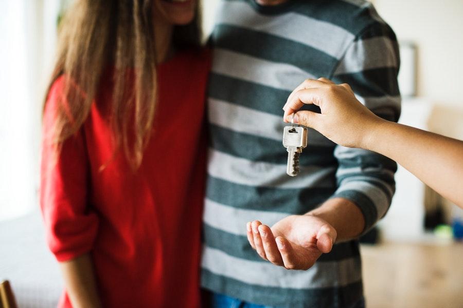 Przekazanie kluczy do mieszkania