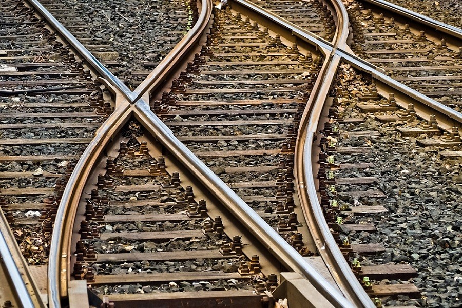 Rozjazdy kolejowe