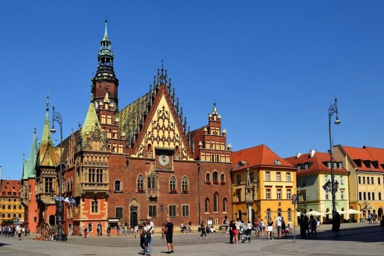 Wroclaw is the third fastest growing city in the EU