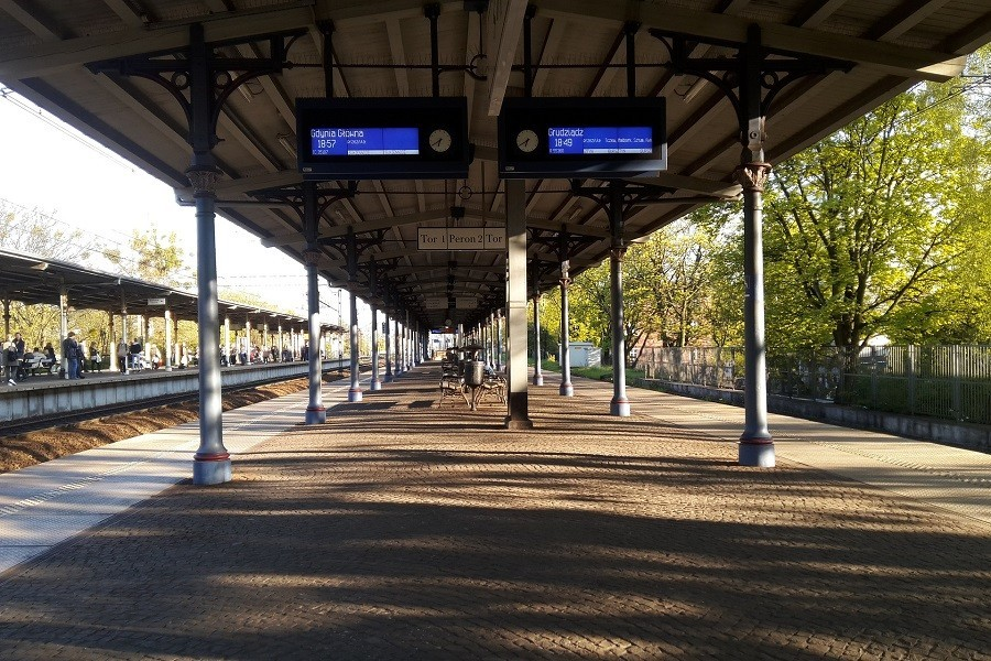 peron w Sopocie