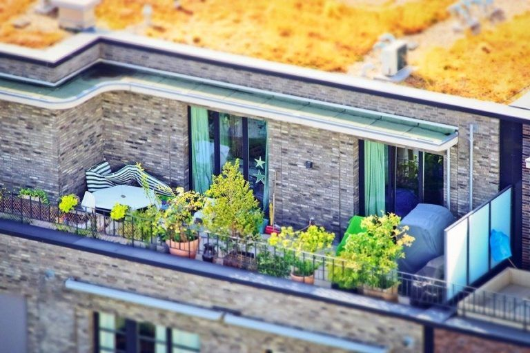 Are the apartments with gardens and terraces more sought after now?