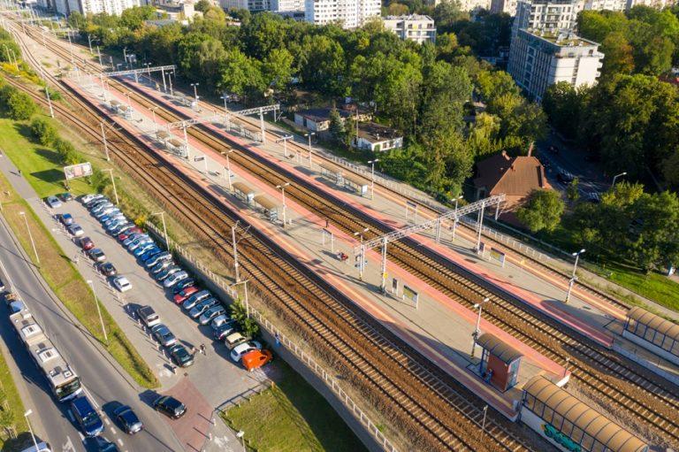 Development of land under the rail tracks in Krakow