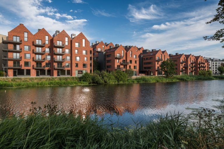 Riverview is the first housing estate awarded a LEED certificate in Poland