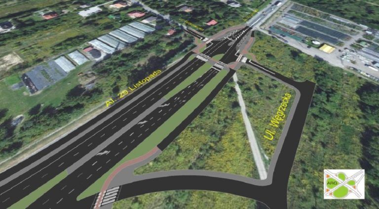 Krakow: expansion of the exit road to Warsaw will start soon