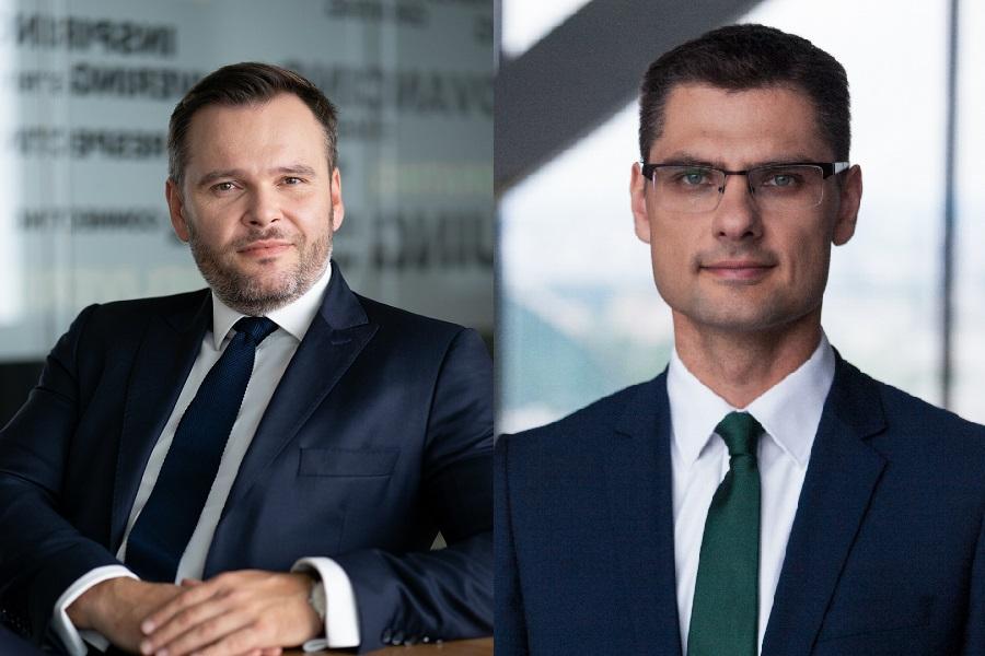 Piotr Karpiński i Przemysław Felicki CBRE