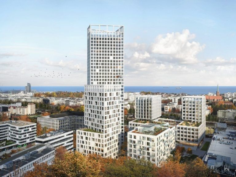 The 120-meter tower will be built in Gdynia