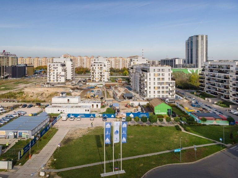 Skanska: construction works started within 3rd stage of Park Skandynawia