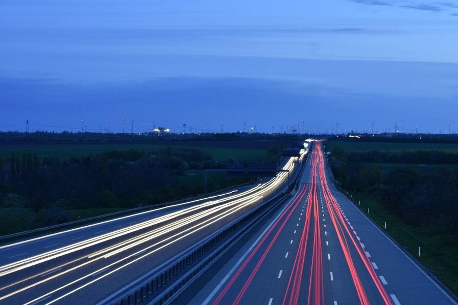 autostrada nad ranem