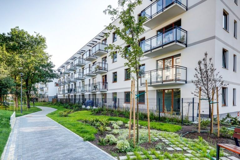 Will commercial housing be developed on municipal land?