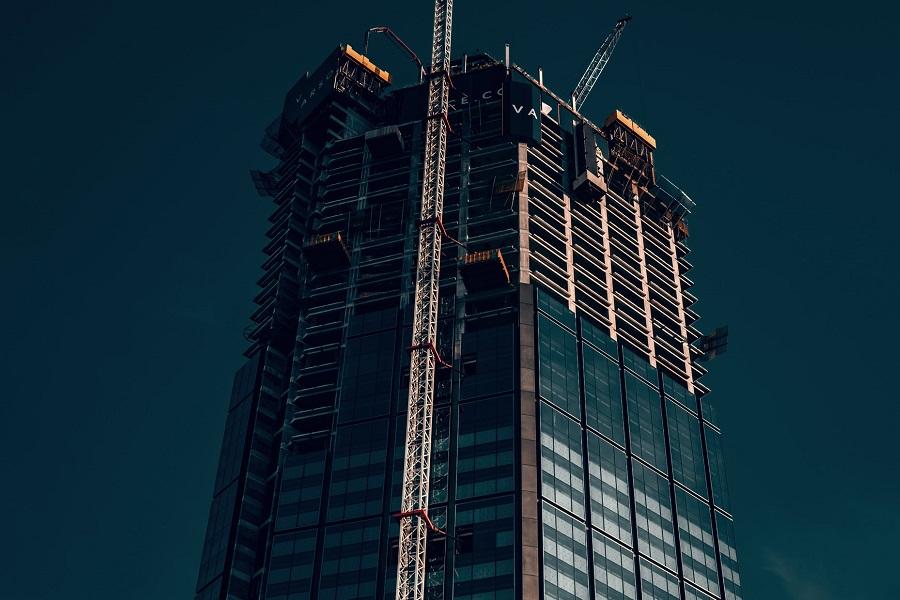 varso tower w budowie