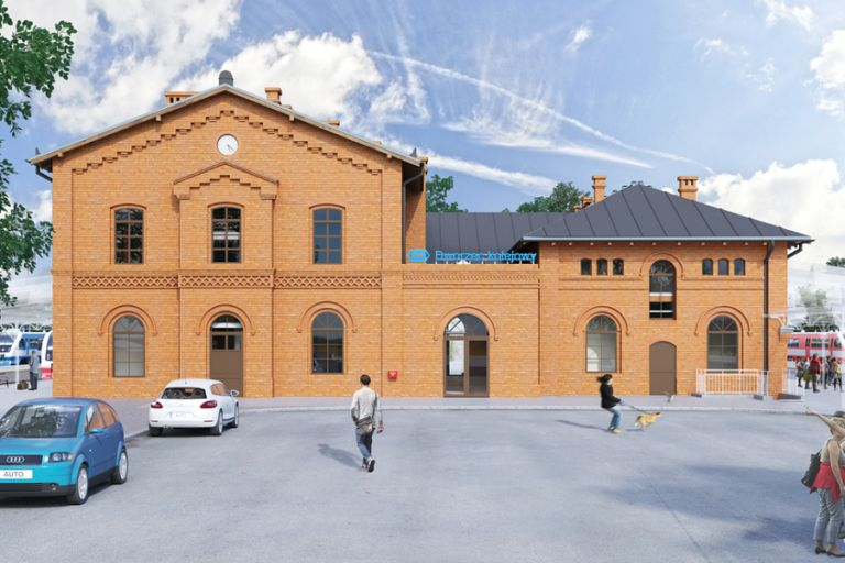 Rebuilding of Rzepin railway station coming up